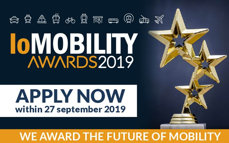 IoMobility Awards, candidature aperte fino al 27 settembre 2019
