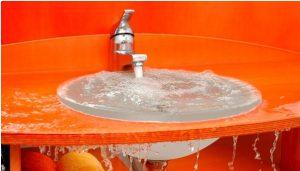 rubinetto che perde acqua