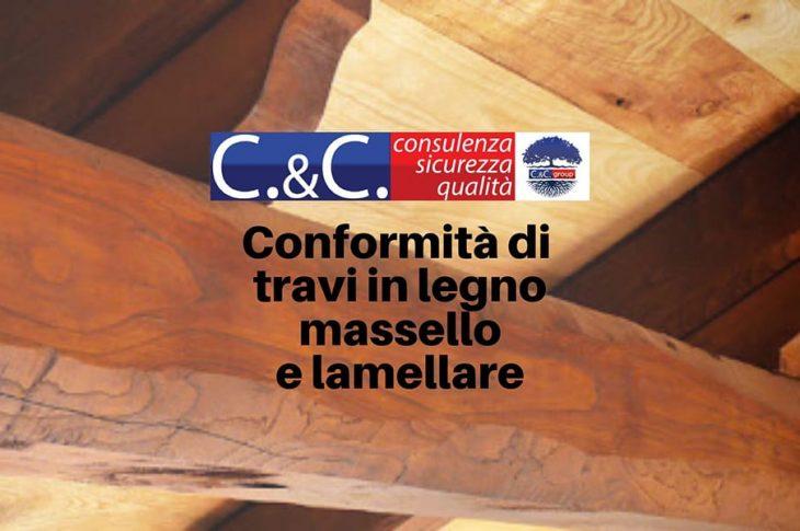 Marchio CE per travi in legno massello e lamellari da costruzione