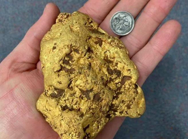 estrarre oro